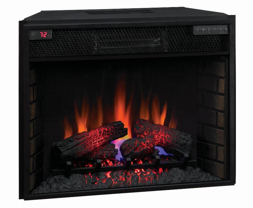 28 Quot Spectrafire Infrared Quartz Electric Fireplace Insert 28ii200gra