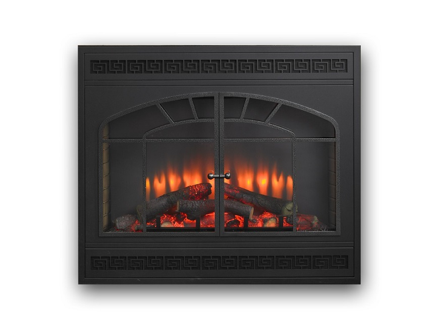 34 Quot Gallery Electric Led Built In Electric Fireplace Insert