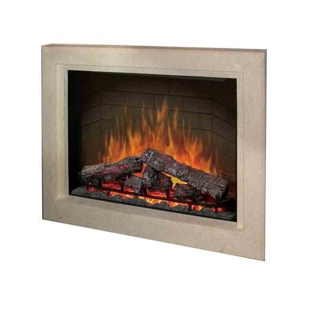 Dimplex Picture Frame Surround Log Set Electric Fireplace - Dimplex electric fireplaces
