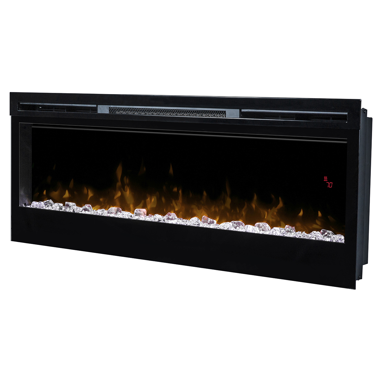 blf prism series electric fireplace from dimplexportablefireplace com