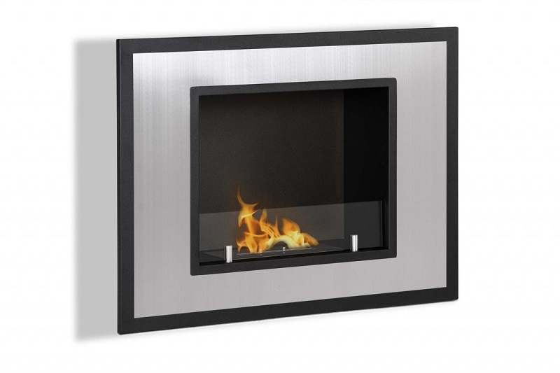 Ignis Bellezza Mini Wall Mounted Recessed Ventless Ethanol Fireplace