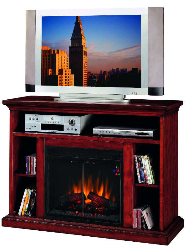 48 Beverly Entertainment Center Electric Fireplace