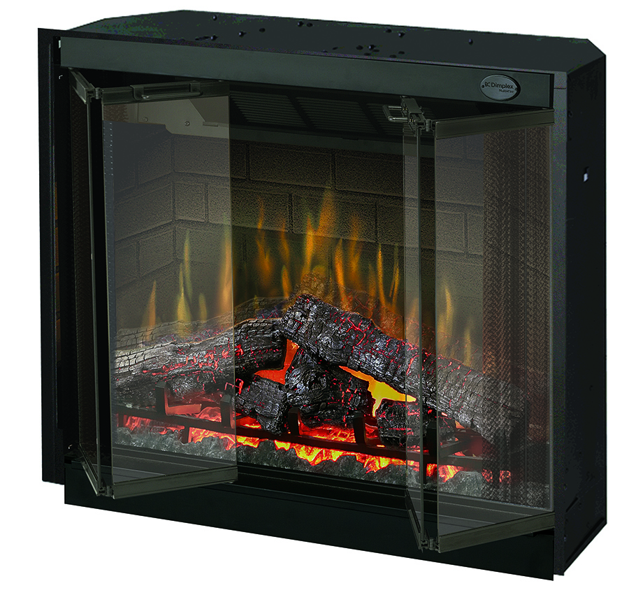 "36.5"" Dimplex Purifire Electric Fireplace Insert"