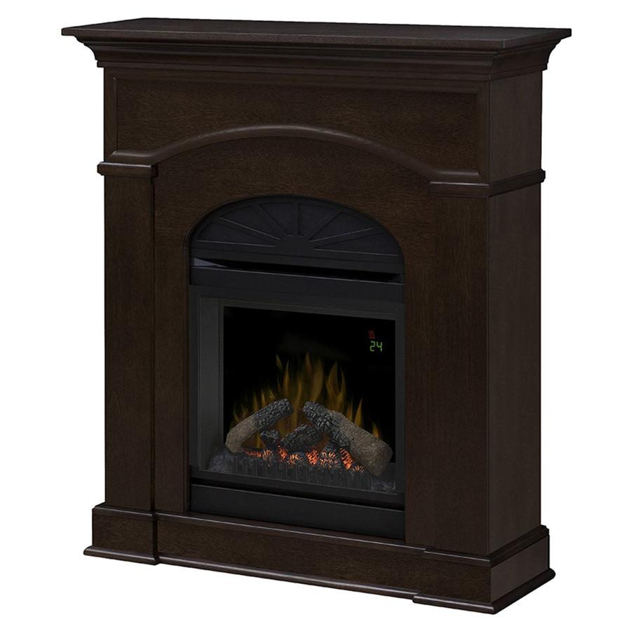 Dimplex Bronte Mocha Mantel Electric Fireplace Dfp20l 1334ma Portablefireplace