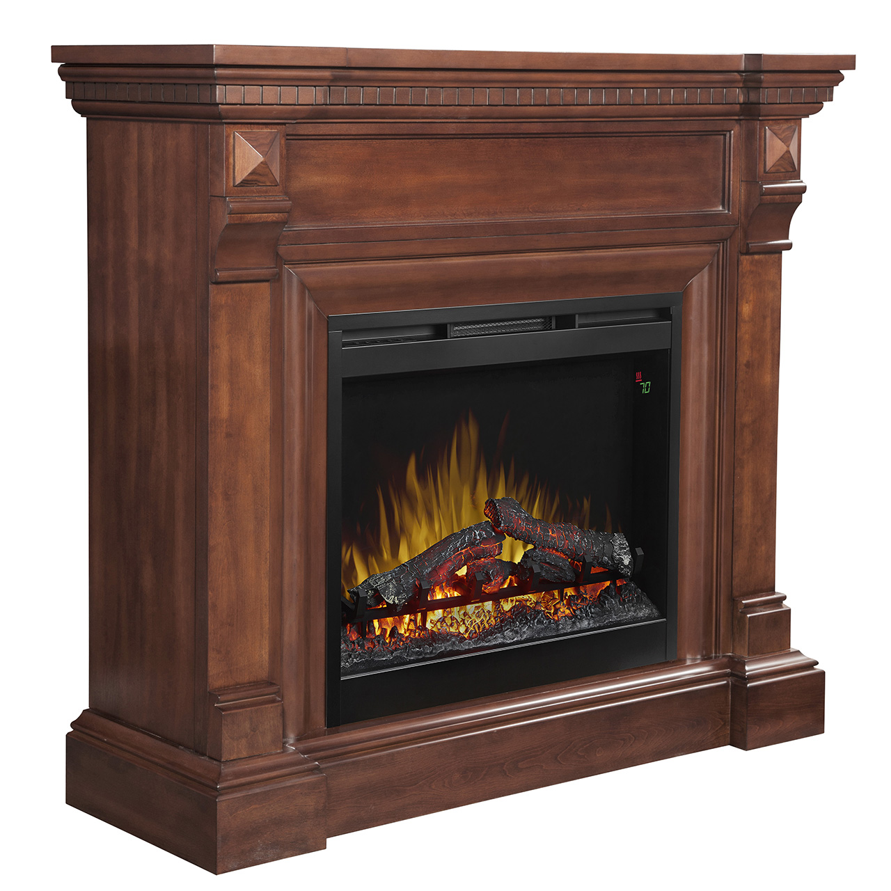 "48.5"" Dimplex William Electric Fireplace Mantel in ..."