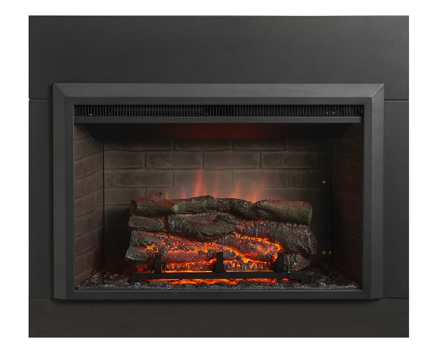 36 gallery collection zero clearance electric fireplace
