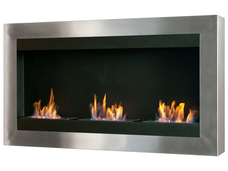 "43 5"" Ignis Magnum Wall Mounted Ventless Ethanol Fireplace"