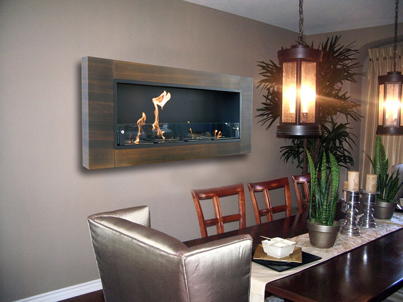 rockingham wall mounted electric fireplace reviews stanton mount canada dark walnut bio ethanol