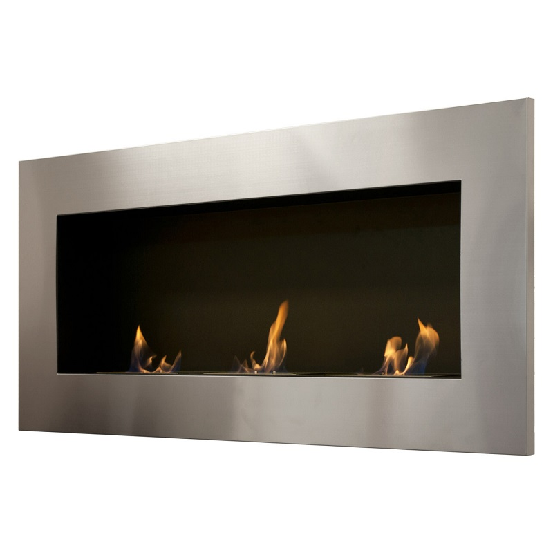 59 Ignis Optimum Wall Mounted Recessed Ventless Ethanol Fireplace
