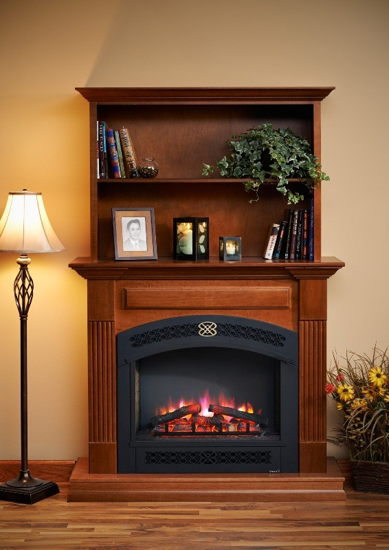 Rio Grande Cabinet with Bookcase and Full Arched Front
