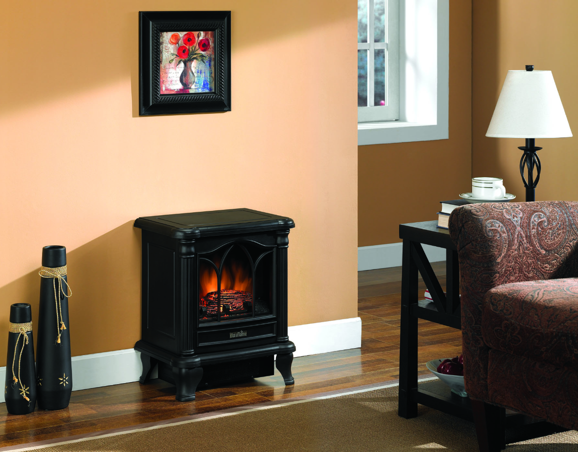 Durflame Stove Electric Fireplace A Twin Star International Company  Small Electric Fireplaces