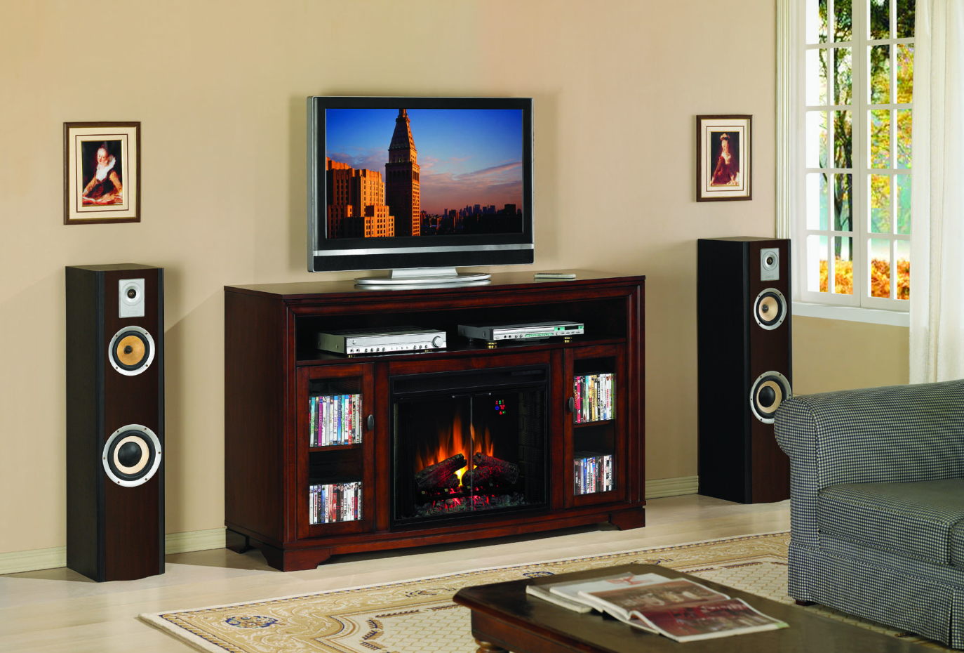 enjoy electric fireplace center
