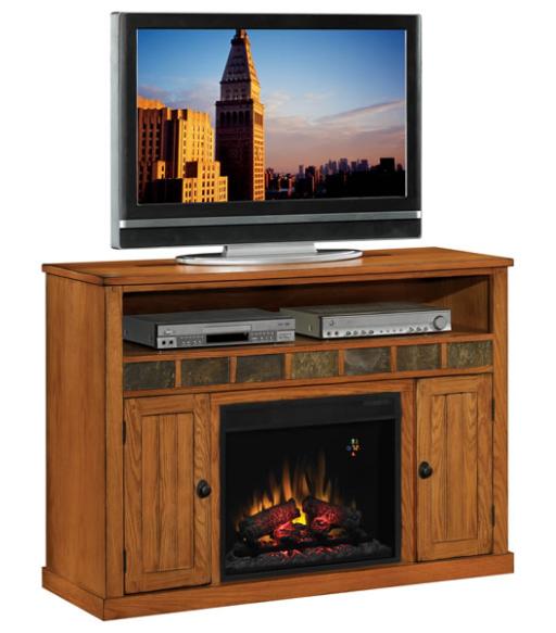 52 39 39 Sedonia Classic Oak Entertainment Center Electric Fireplace 23mm0925 O124 Portablefireplace