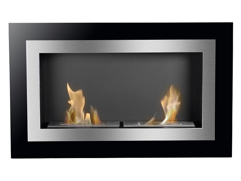 35 5 Ignis Villa Wall Mounted Ventless Ethanol Fireplace