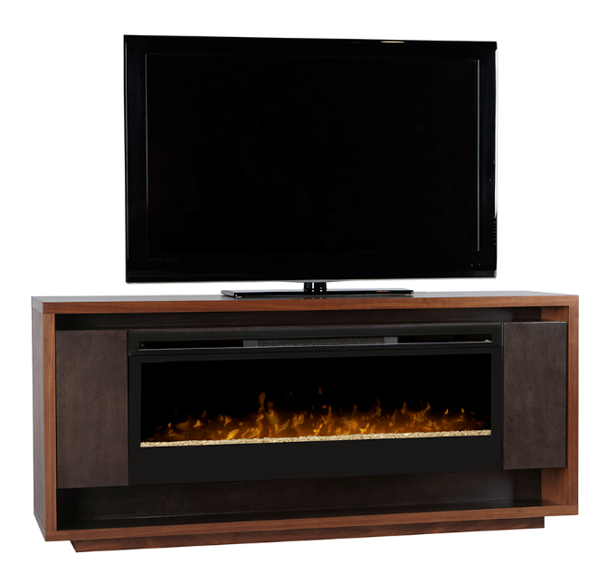 72 Quot Dimplex Maddox Maple Media Console Fireplace