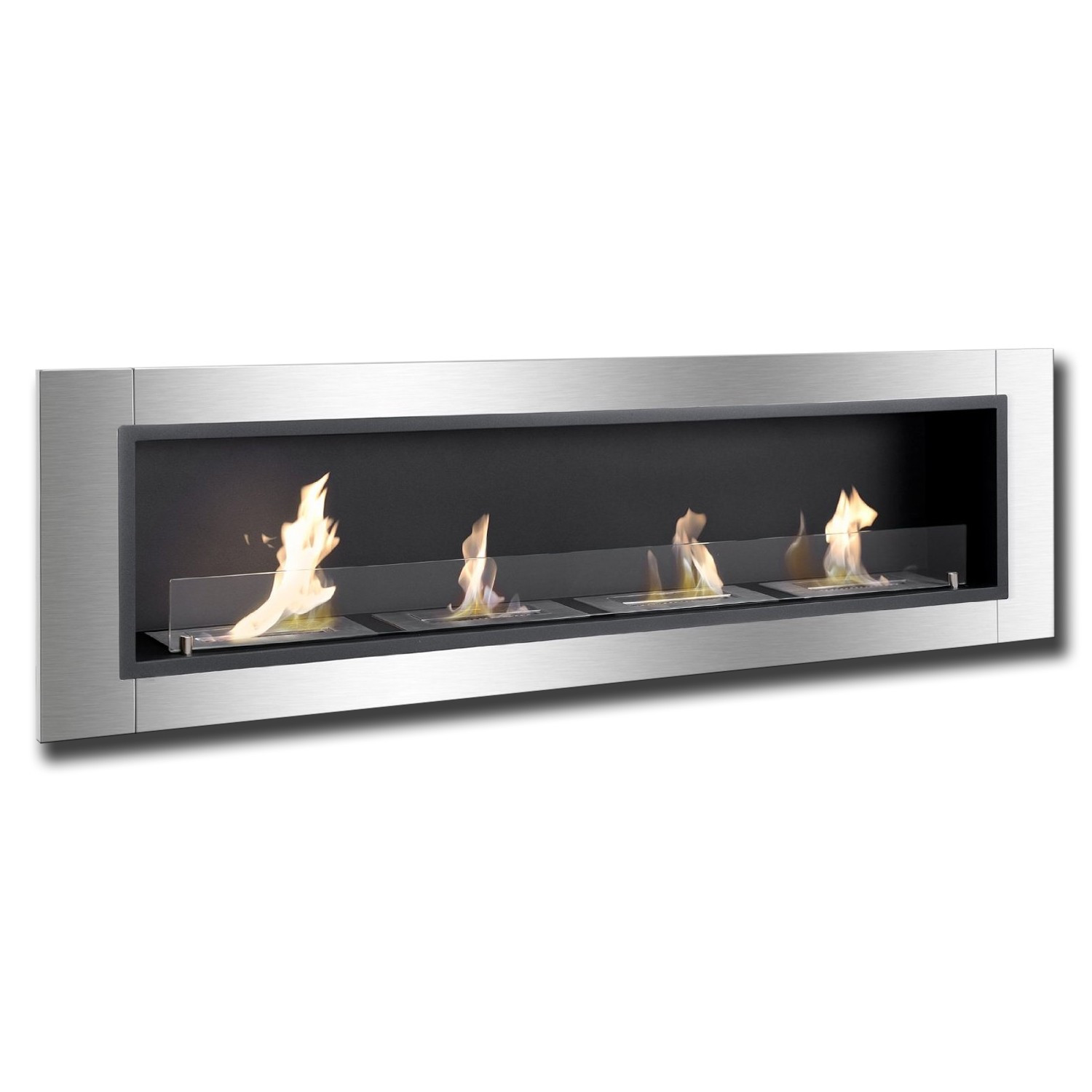 67 Quot Ignis Accalia Wall Mounted Recessed Ventless Ethanol