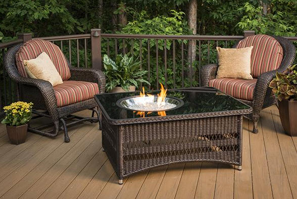 48 inch Naples Outdoor Fire Pit Table