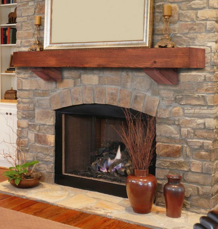 PortableFireplace.com  Fireplace Mantel Shelves