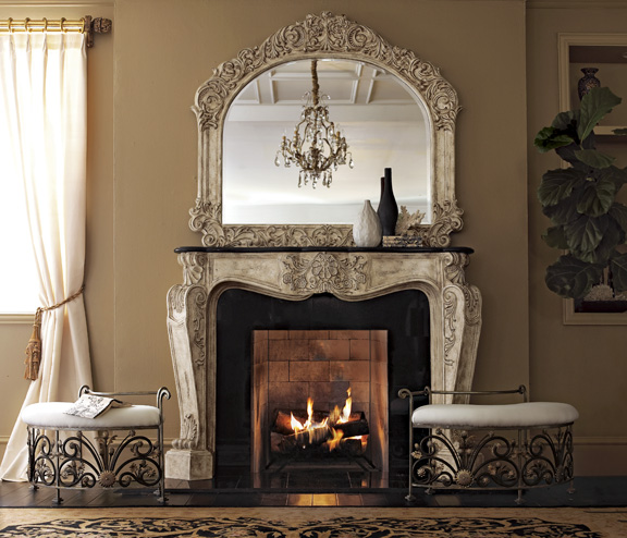 72 french fireplace surround for French country fireplace