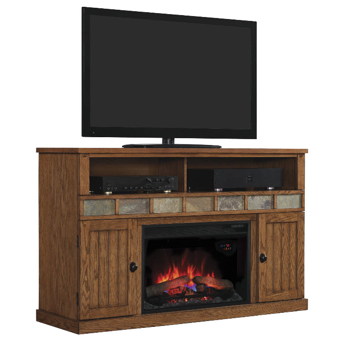 rustic electric fireplaces i portable