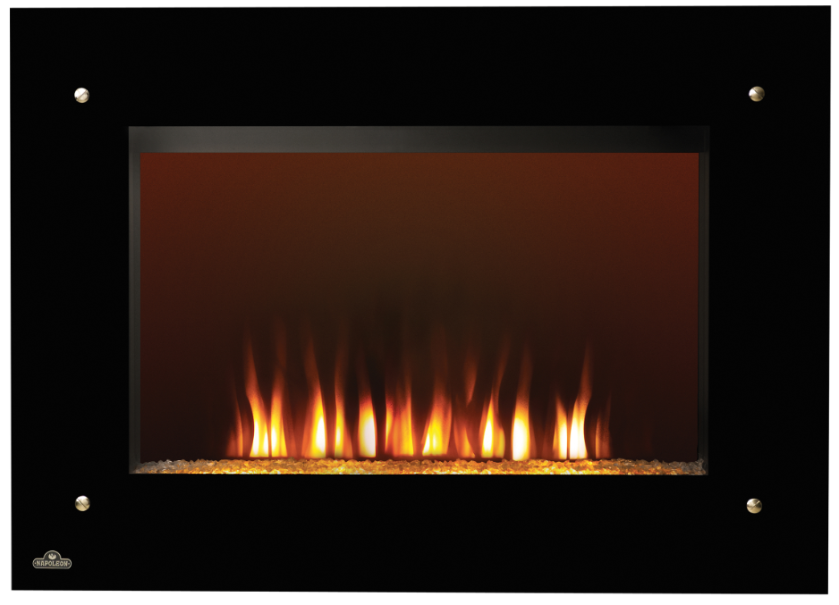 "39.25"" Dzonlic Electric Wall Fireplace"