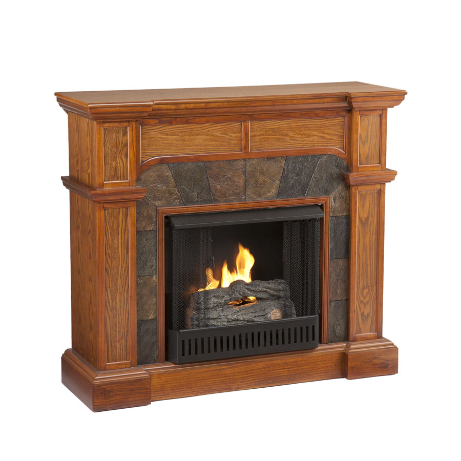 45 5 39 39 Holly Martin Cypress Gel Fireplace Mission Oak