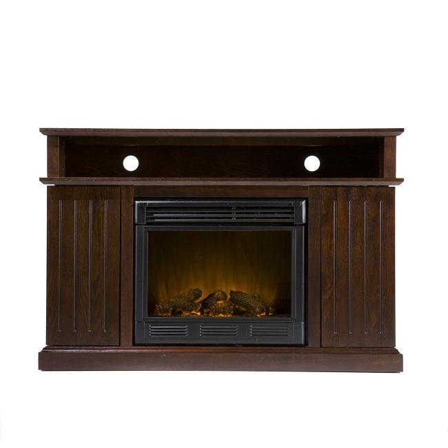 48 Holly Martin Fenton Media Electric Fireplace Espresso Portablefireplace