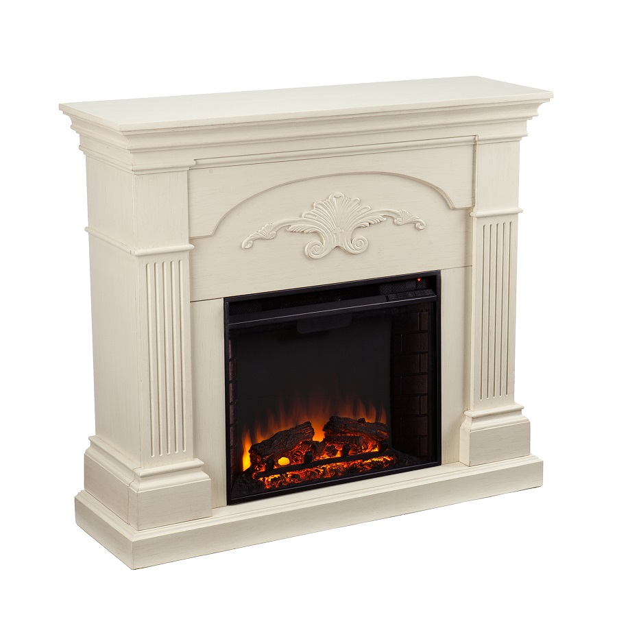 44 75 quot sicilian harvest ivory electric fireplace fe9275