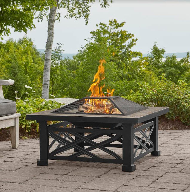 33 Larkspur Wood Burning Outdoor Fire Pit