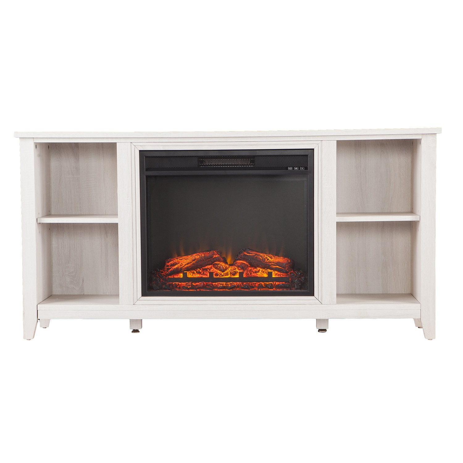 tv fetching electric wooden stand pretty fireplace mantle with storage corner lcd under in white