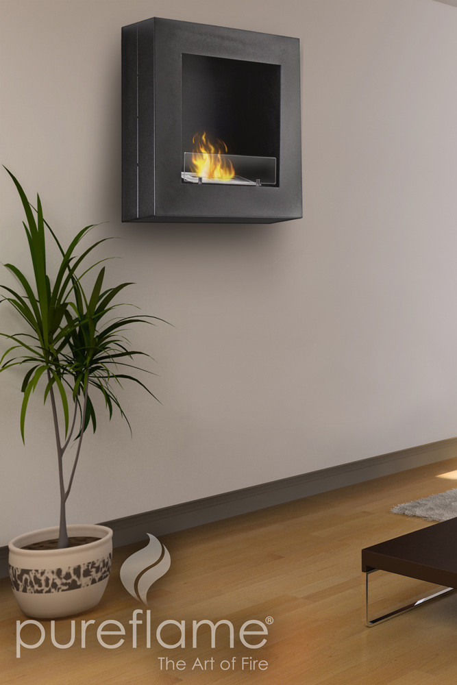 24 Quot Hayden Wall Mounted Biofuel Fireplace