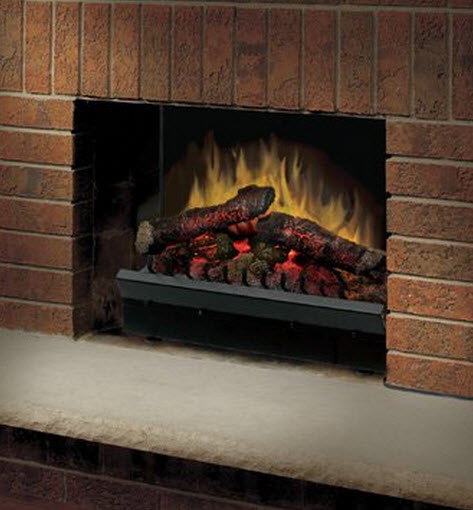 23.18 Inch Dimplex Deluxe Electric Fireplace Insert