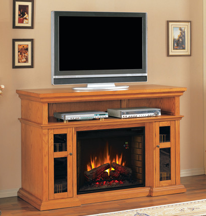 Pasadena Electric Fireplace Premium Oak Finish - 28MM468-O107