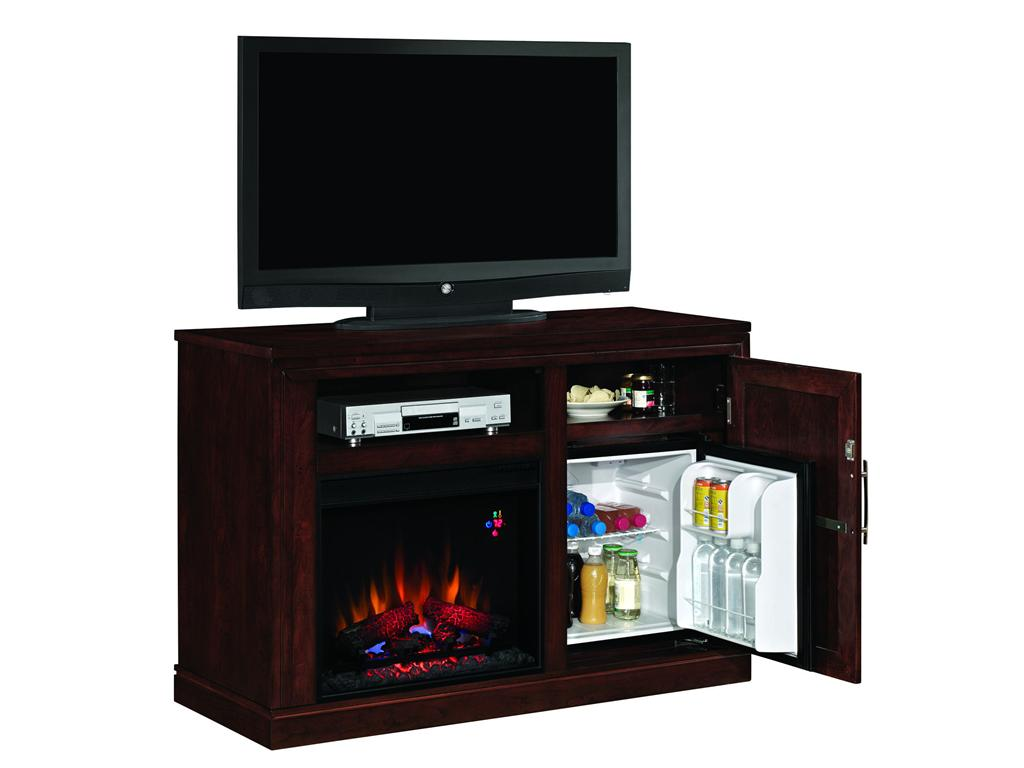 """50.75"""" Party Time Empire Cherry Electric Fireplace Media ..."""