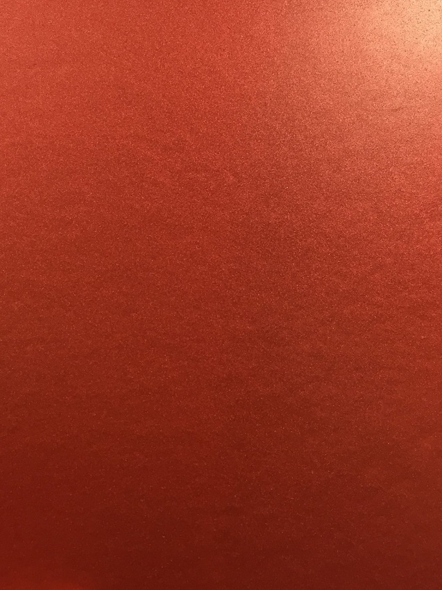 Shimmering Rose Red Sample