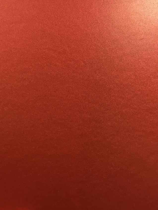 Shimmering Rose Red Sample