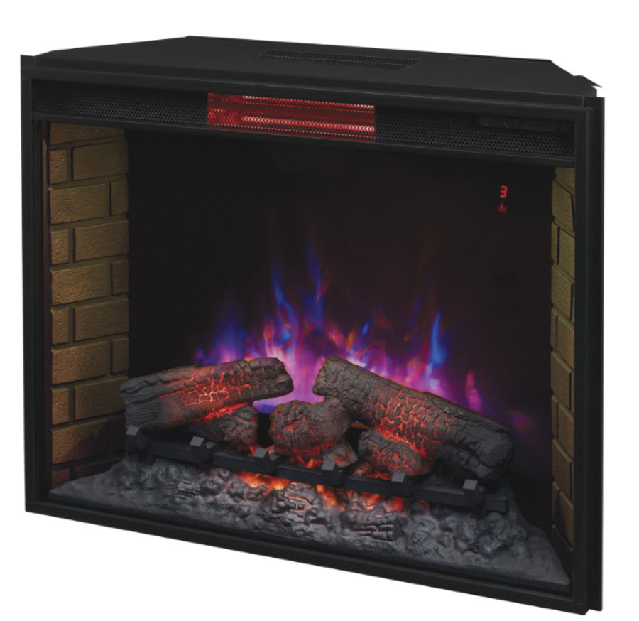33 39 39 Classic Flame Infrared Spectrafire Fireplace Electric Insert 33ii310gra