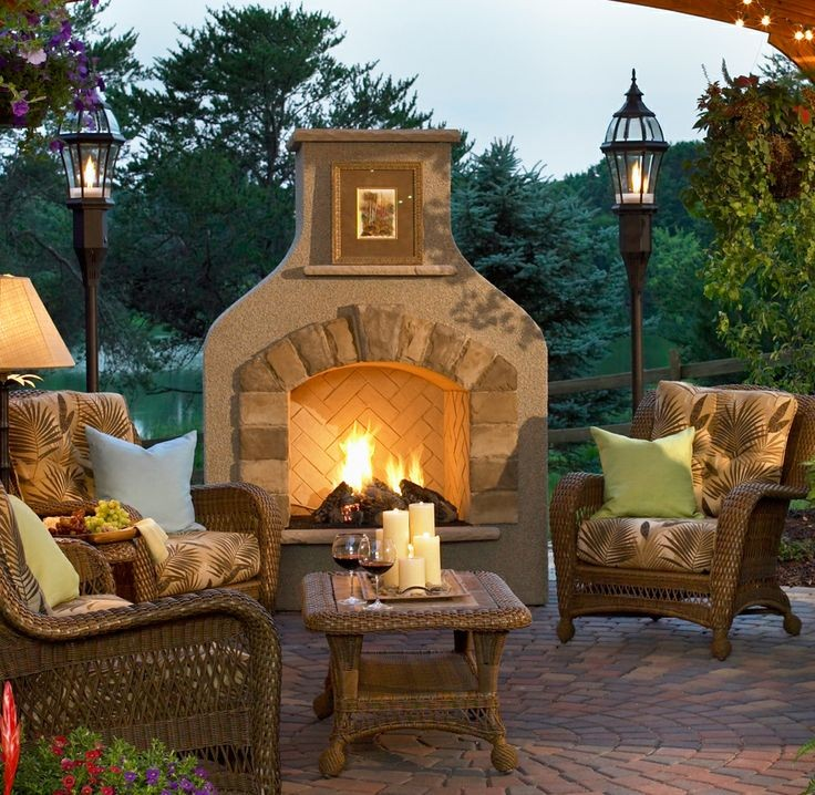 Make your backyard an unforgettable place to relax with our unique Sonoma Fireplace.