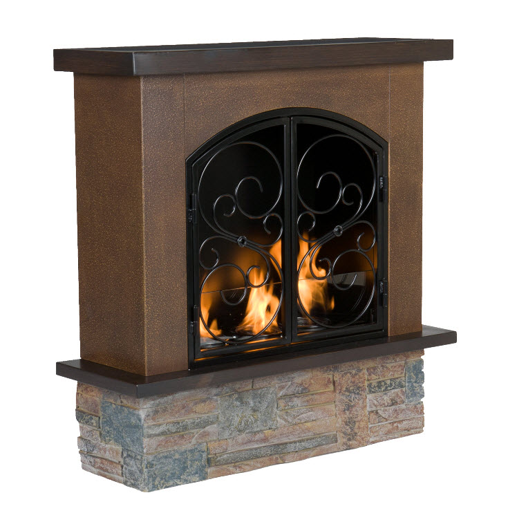portable outdoor fireplace