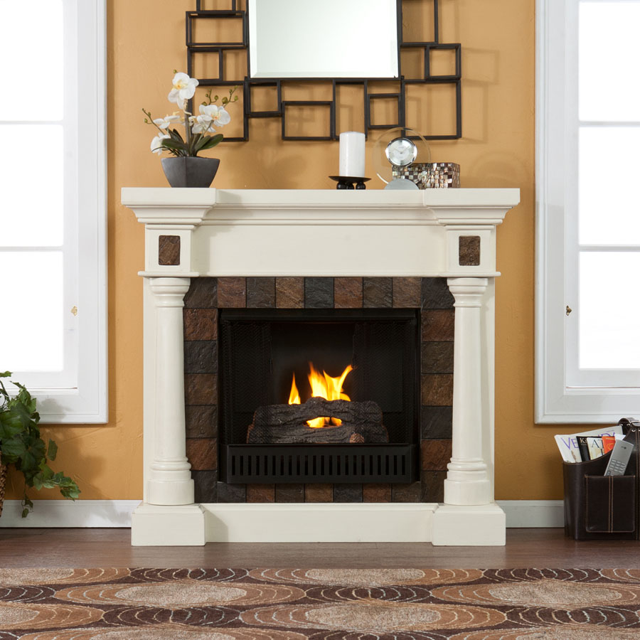 Holly and Martin Weatherford Convertible Gel Fireplace