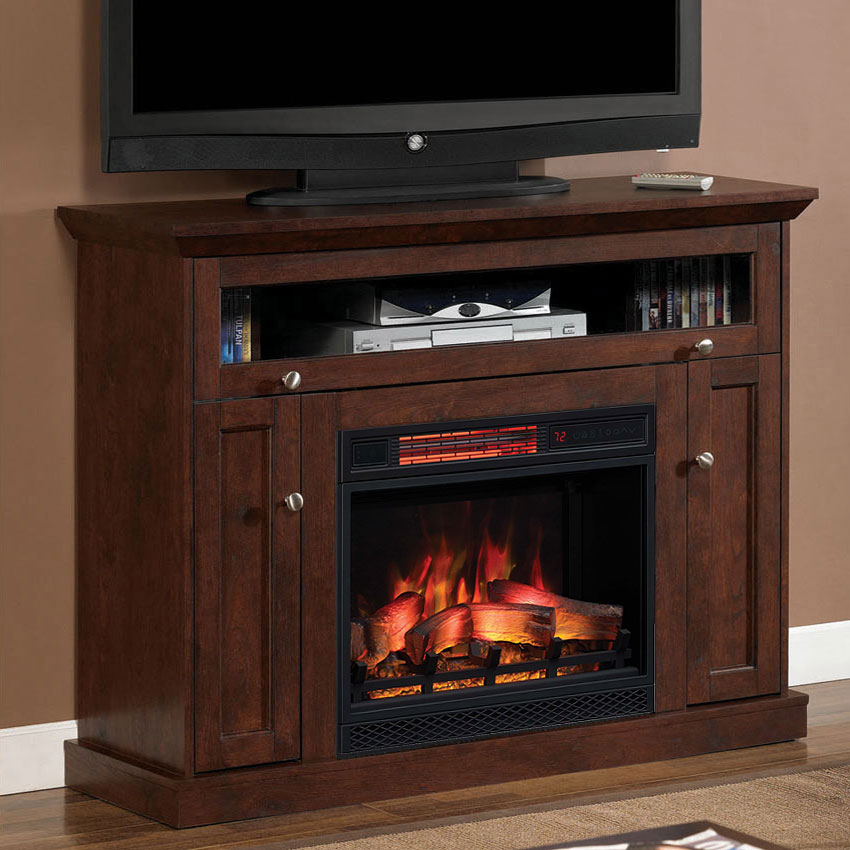 Groovy 46 25 Windsor Antique Cherry Entertainment Center Electric Fireplace Download Free Architecture Designs Xerocsunscenecom
