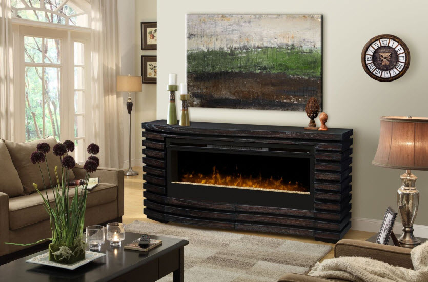 70 elliot glass ember bed electric fireplace gds50g3 1587ht - Going to bed with embers in fireplace ...
