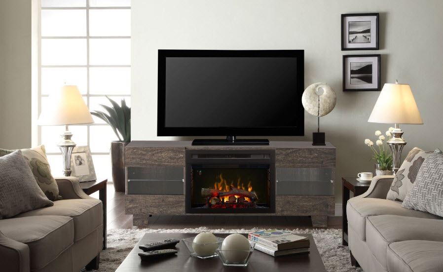 62 max media console with multi fire glass ember bed - Going to bed with embers in fireplace ...