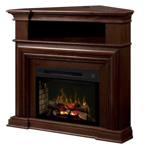 45 375 dimplex montgomery espresso corner media console fireplace rh portablefireplace com tv console with fireplace costco console fireplace with built-in mini-fridge