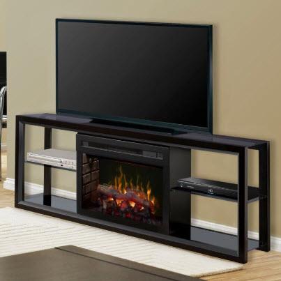 Dimplex Novara Black Entertainment Center Fireplace