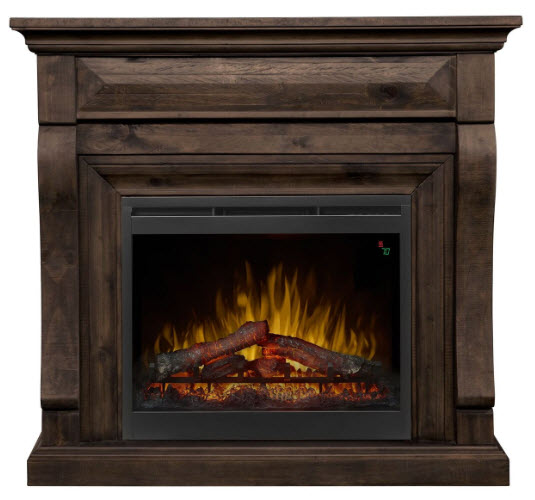 47 Quot Dimplex Samuel Mantel Electric Fireplace In Weathered Grey