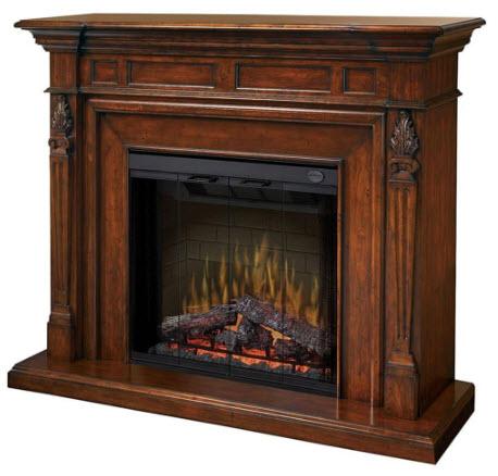 63 6 Quot Dimplex Torchiere Burnished Walnut Purifire Electric