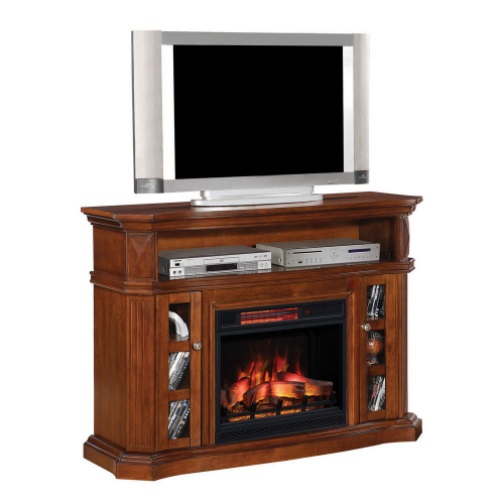 fireplace stand electric tv corner inch