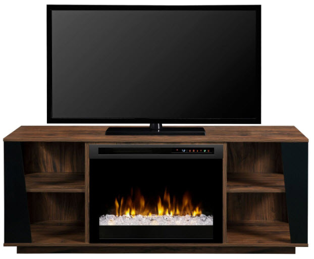 59 dimplex arlo media console electric fireplace with - Going to bed with embers in fireplace ...