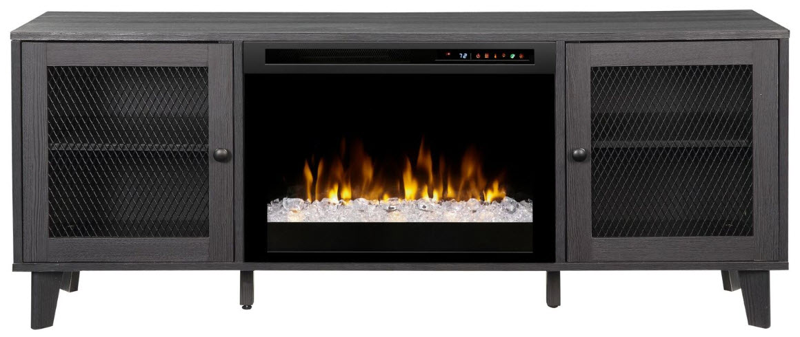 65 dimplex dean media console electric fireplace with - Going to bed with embers in fireplace ...